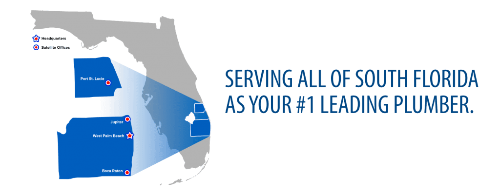 Serving all of South Florida as your #1 Leading Plumber